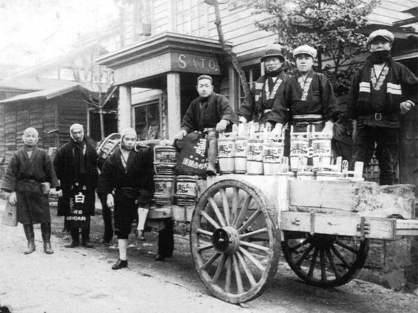 江戸時代後期に醤油屋を創業